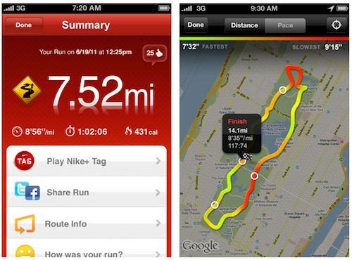 Nike+ running nike+ ipod