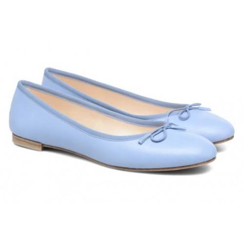 Ballerine bleu ciel