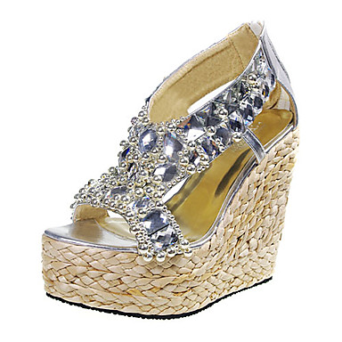 Chaussures femmes compensées à lacets