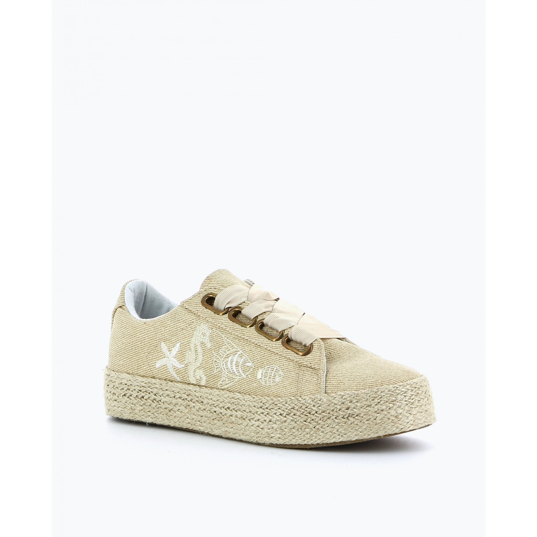 Sneakers grosse semelle