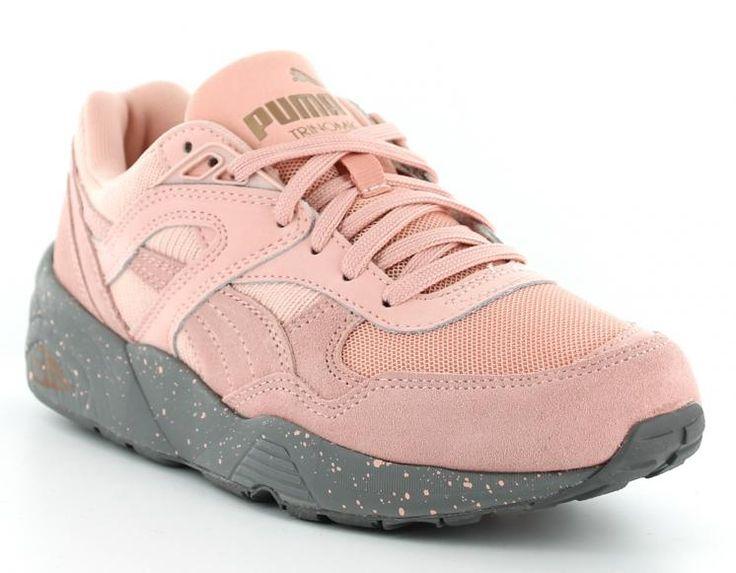 Sneakers femme rose pale