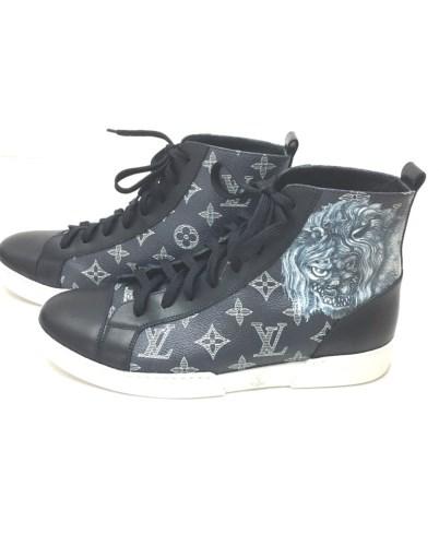 Gray louis vuitton sneakers