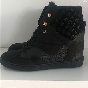 Louis vuitton wedge sneakers