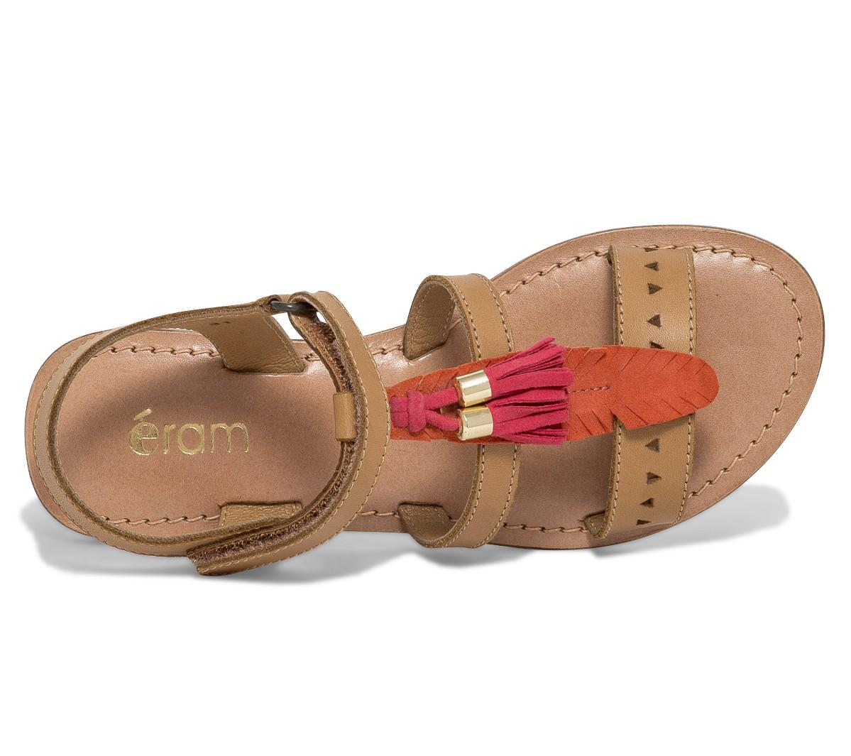 Sandale femme plume