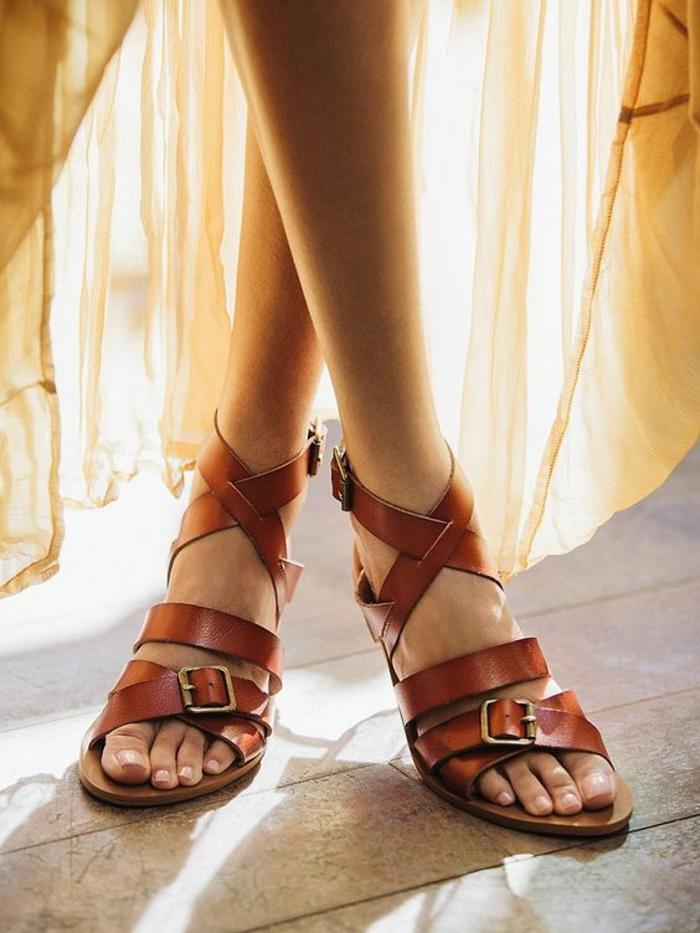 Sandale femme vegan