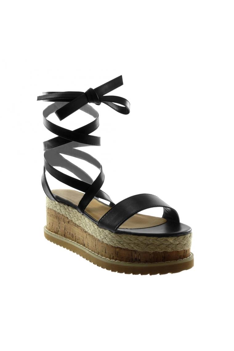 Compensées Chaussures Plateforme Lescahiersdalter Chaussure Corde SzMqUVGp