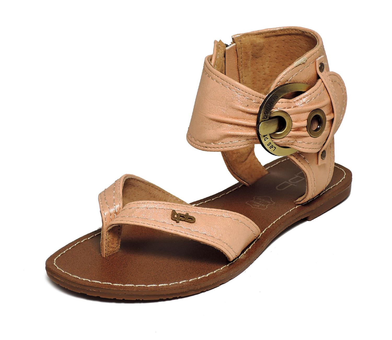 Sandale femme beige