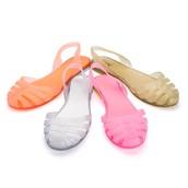 Sandale femme plastique