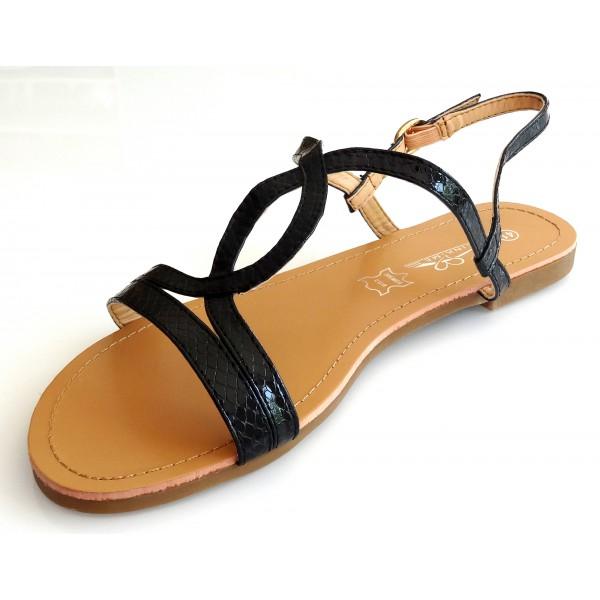 Sandale femme qui cache les orteils