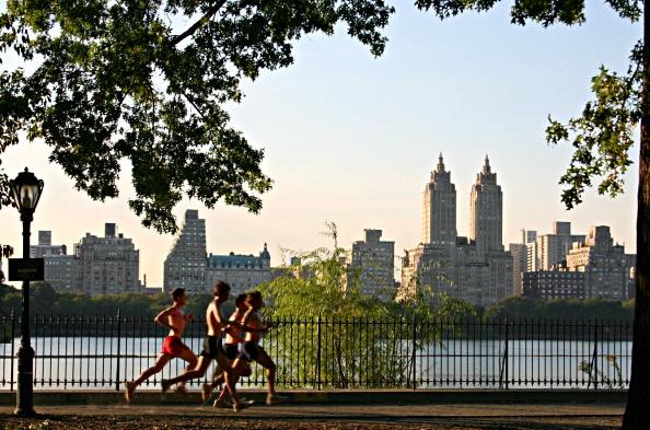 Nike running new york city