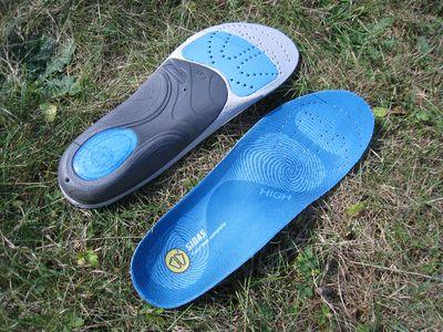 Quelle chaussures de running avec des semelles orthopédique