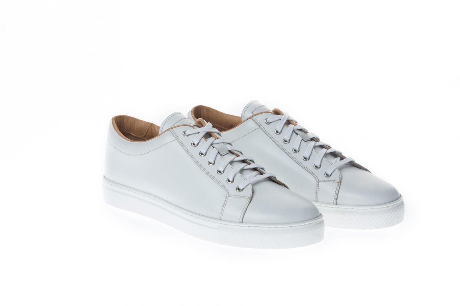 Sneakers homme cuir marron