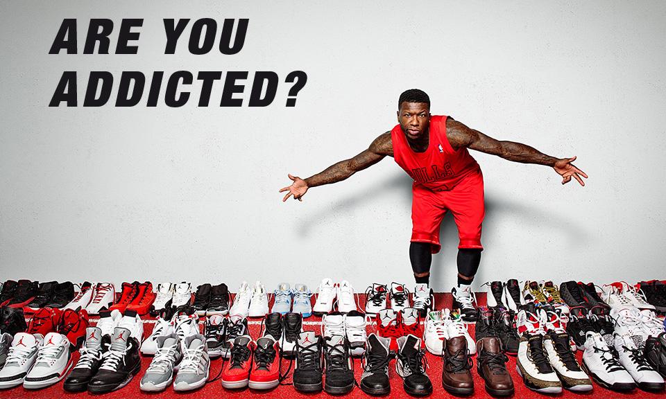 Sneakers addict jordan
