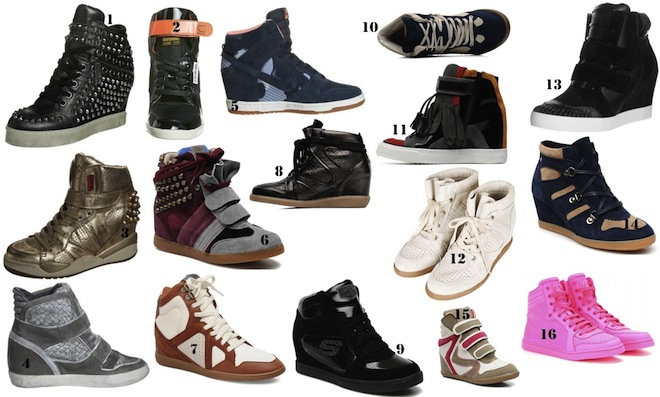 Chaussure compensee hiver pour femme