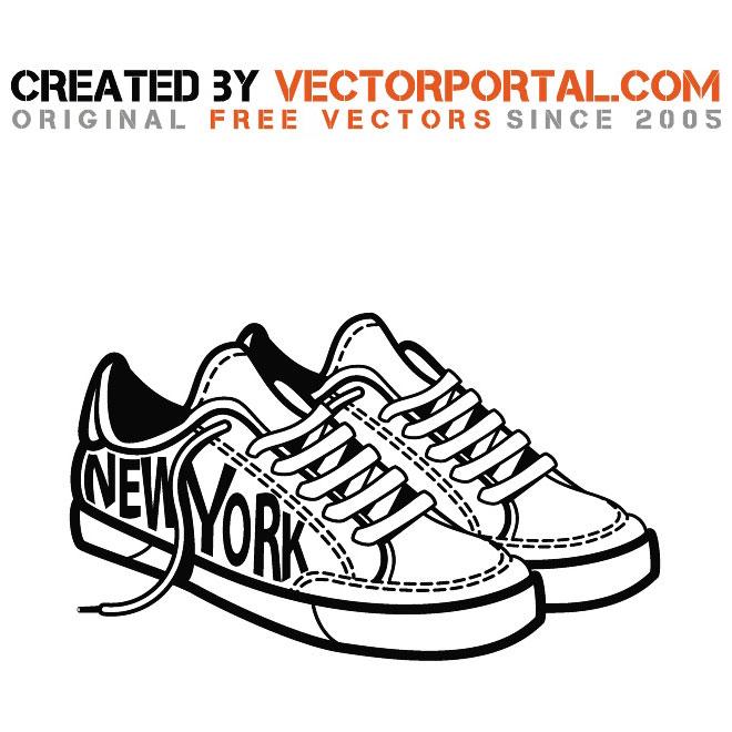 Sneakers ector