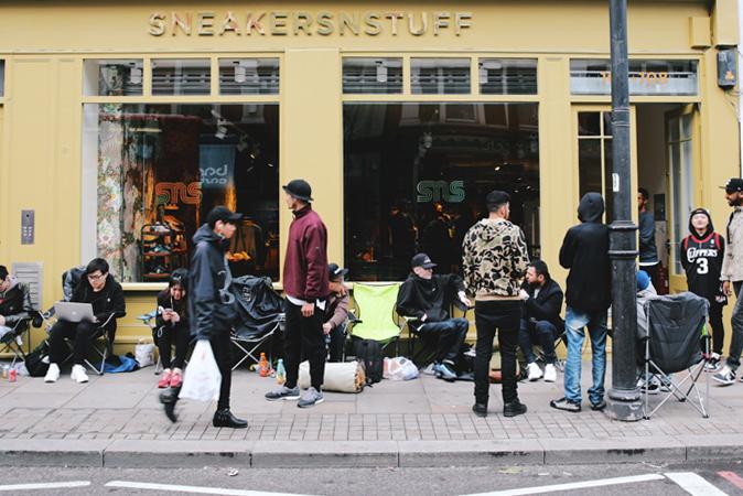Sneakersnstuff in london