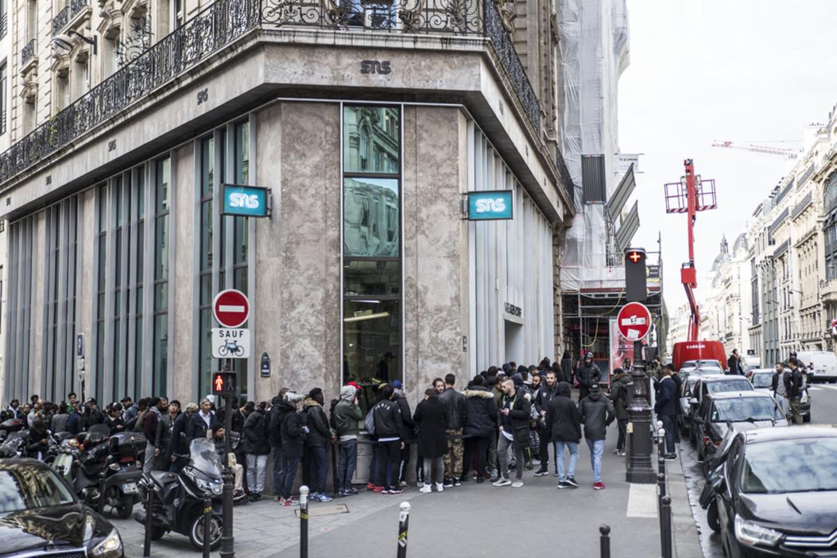 Sneakersnstuff 95 rue réaumur paris