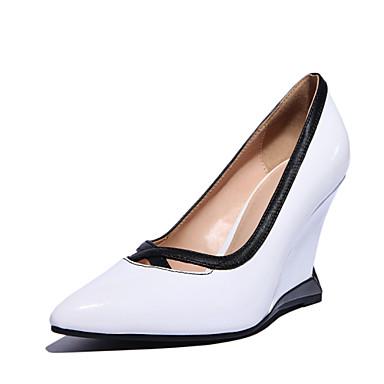 Chaussure compensée noir mariage