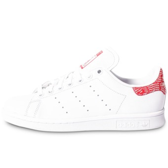 Adidas stan smith femme blanche et rouge