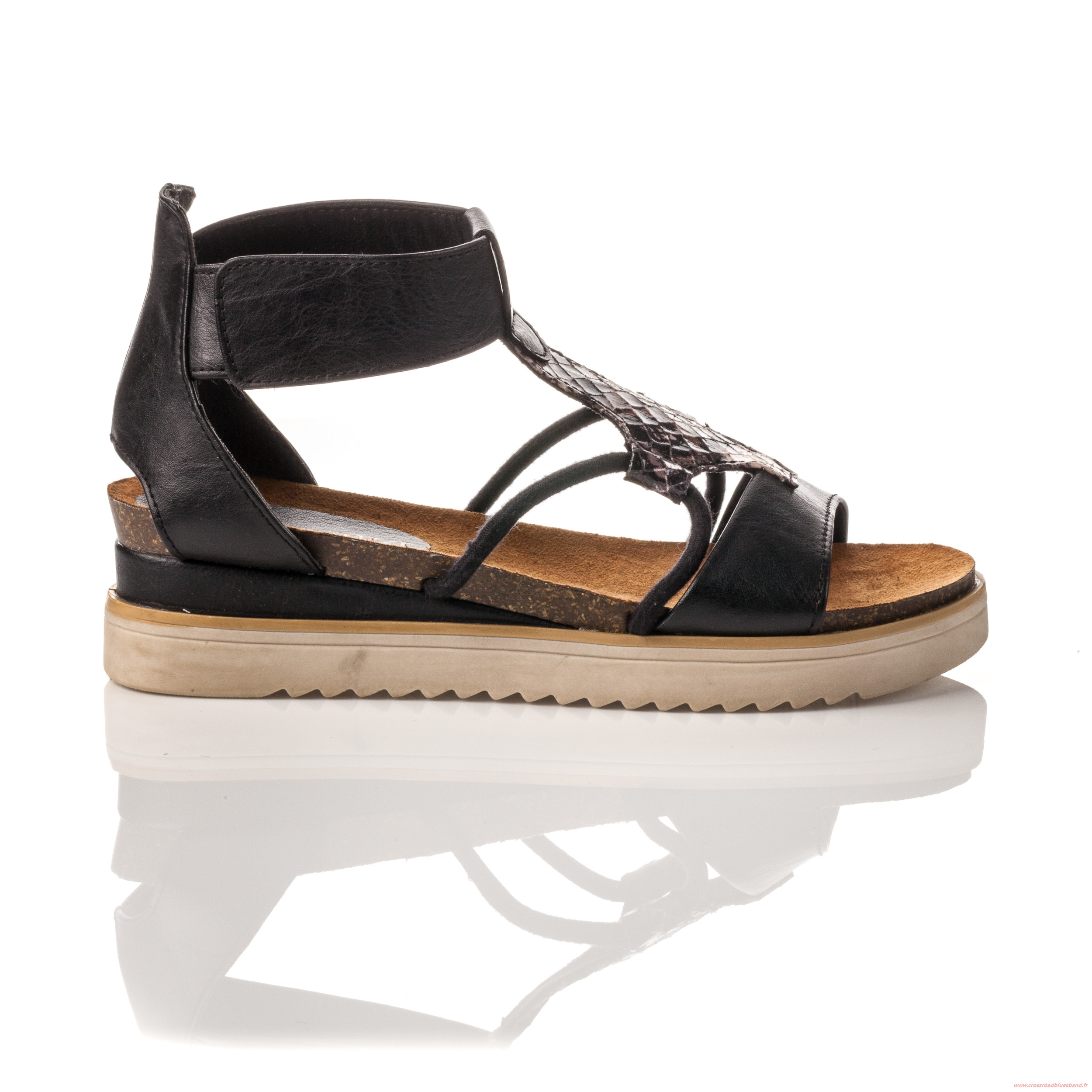 plus de photos b1722 d6c86 Sandales femme plates besson - Chaussure - lescahiersdalter