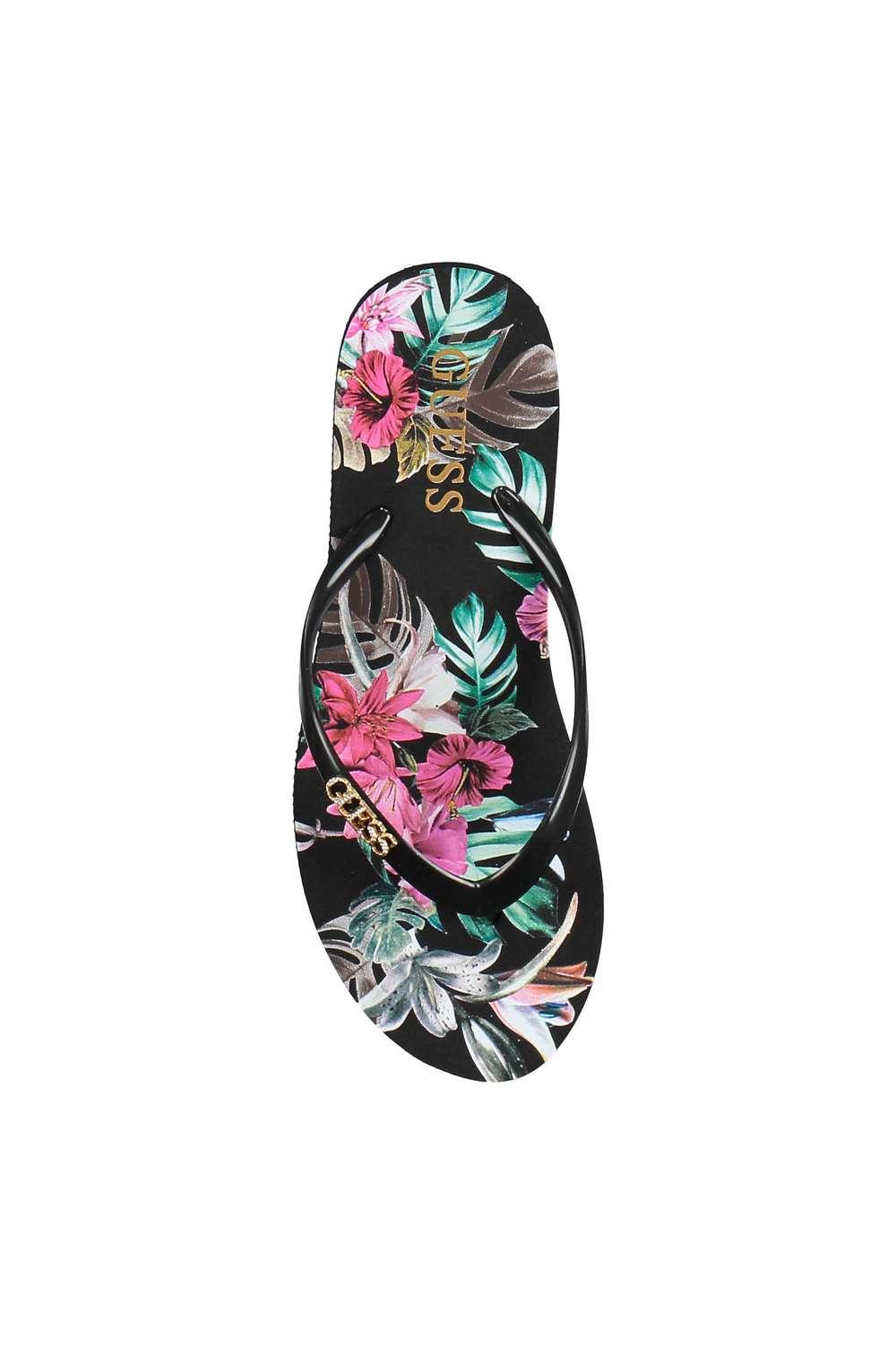 styles classiques meilleur fournisseur achat original Tong femme guess - Chaussure - lescahiersdalter
