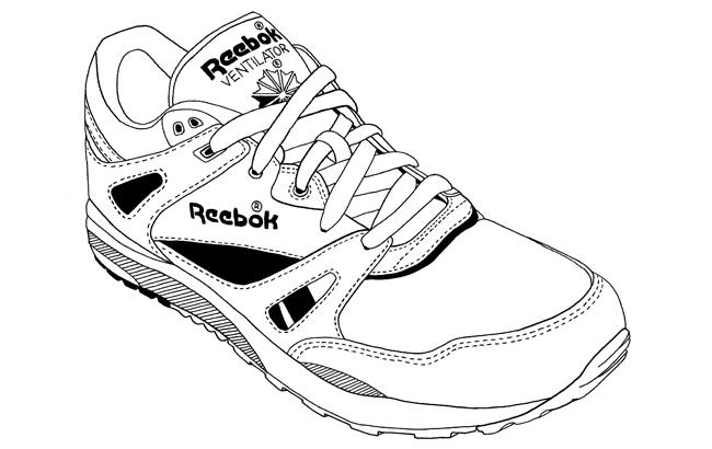Sneakers dessin