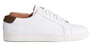 Sneaker homme blanche