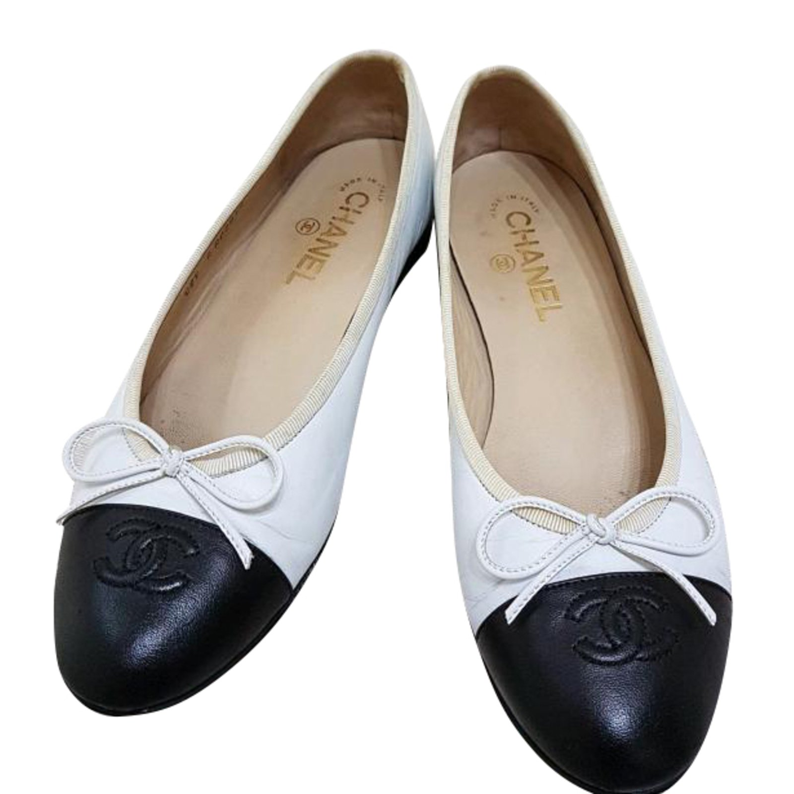 Ballerines chanel d'occasion