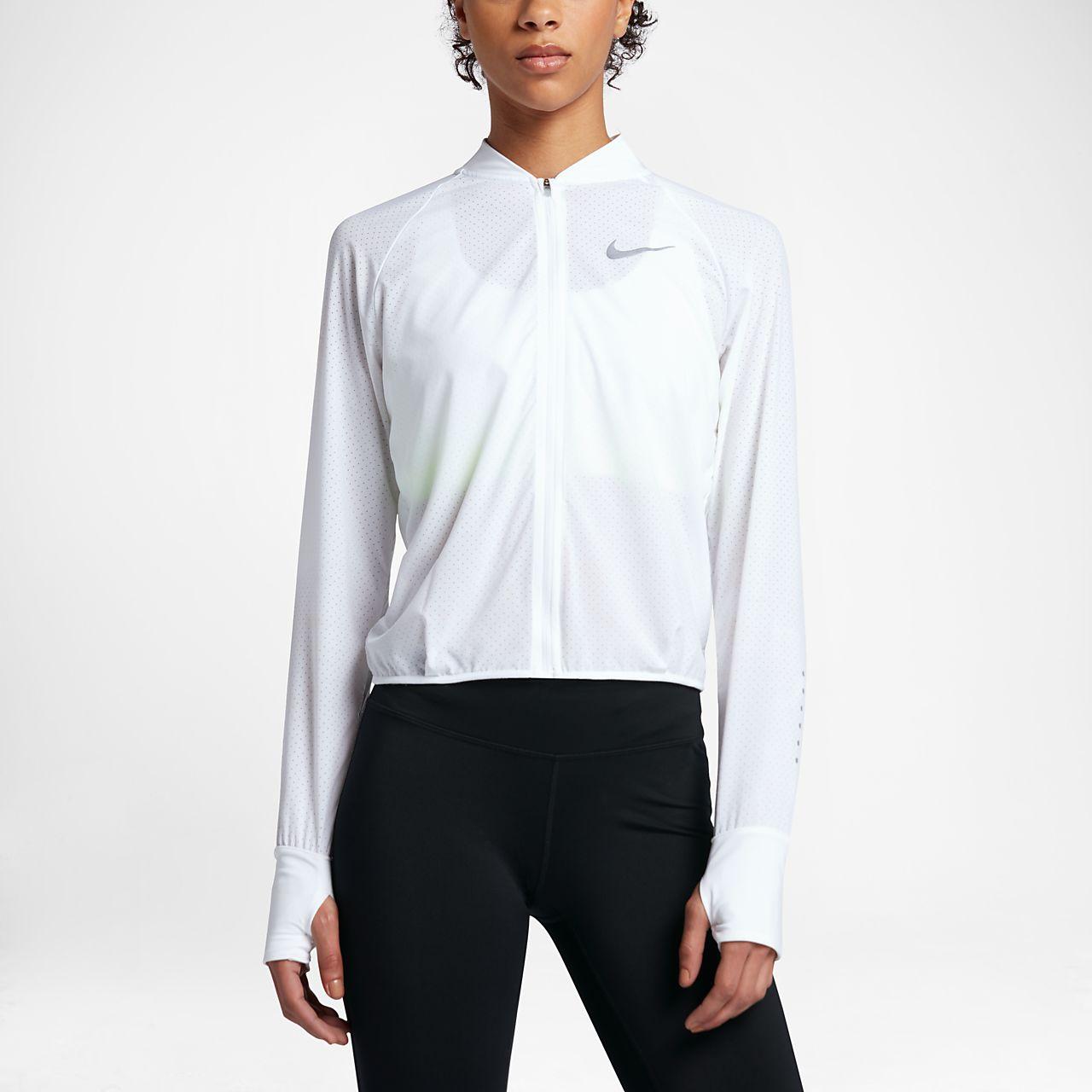 Nike running jacket women's