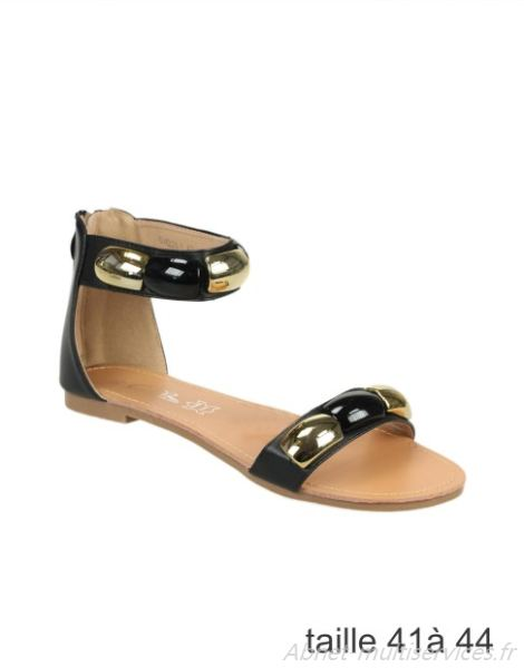Sandales plates femme taille 44