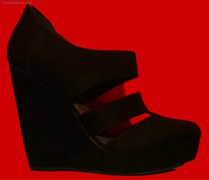 Chaussure compensé new look
